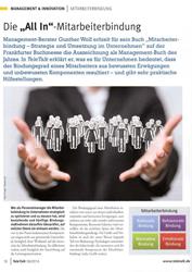 Literatur Mitarbeiterbindung Fachartikel Die All In - Mitarbeiterbindung