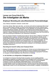 Literatur Mitarbeiterbindung Fachartikel Der Arbeitgeber als Marke