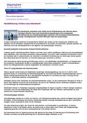 Fachartikel Mitarbeiterbindung: Flexibilisierung – Schöne neue Arbeitswelt