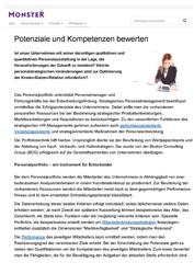Fachartikel Mitarbeiterbindung: Potenziale und Kompetenzen bewerten